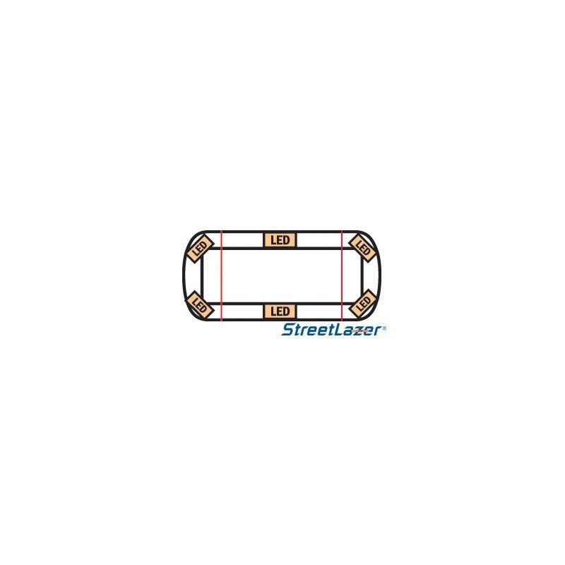 "15-00013-E 23"" TIR Amber Streetlazer LED Mini"