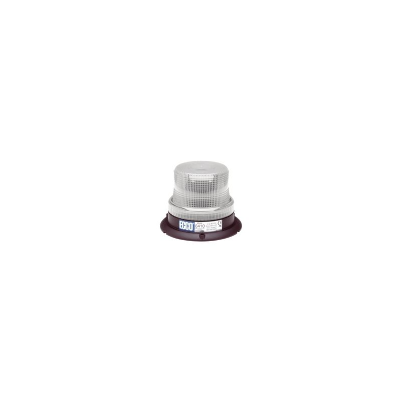 6410C 3-Bolt Clear Low Intensity Rotating Strobe B