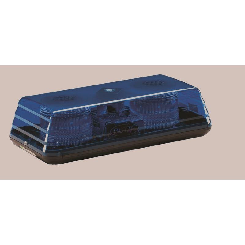 """5150BBB Blaze II Permanent 15"""" Blue Strobe Mini Li"""