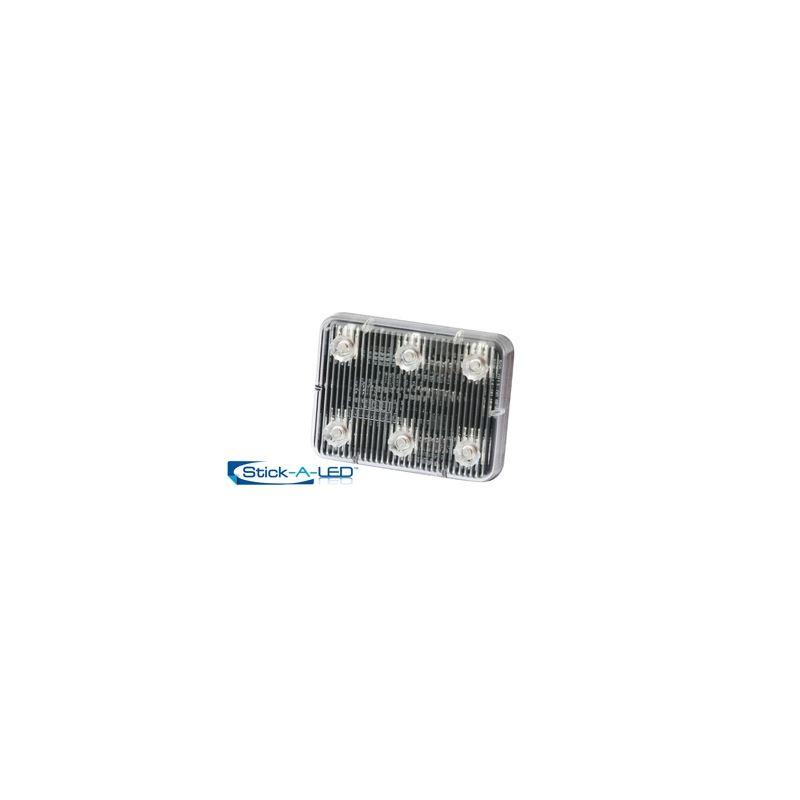 ED0004A Amber 6-LED Stick-A-LED Surface Mount