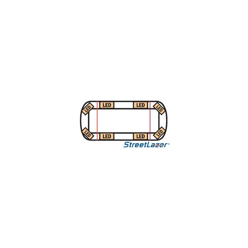 "15-00015-E 23"" TIR Amber Streetlazer LED Mini"