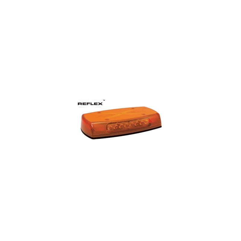 "5590A Permanent Mount 15"" Amber Reflex Mini L"