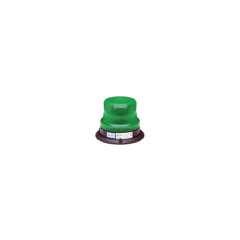 6410G 3-Bolt Green Low Intensity Rotating Strobe B