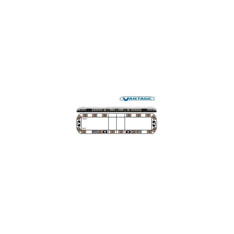 """12-00006-E 60"""" Amber Vantage LED Lightbar"""