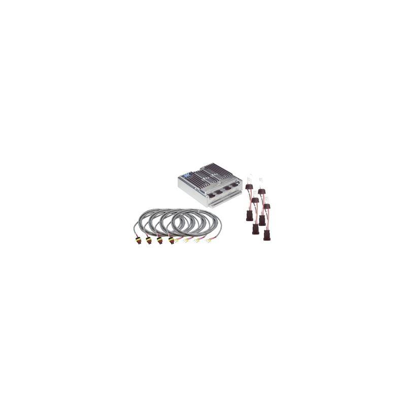 9460-18 4-Head Hide-Away System Clear Remote Strob