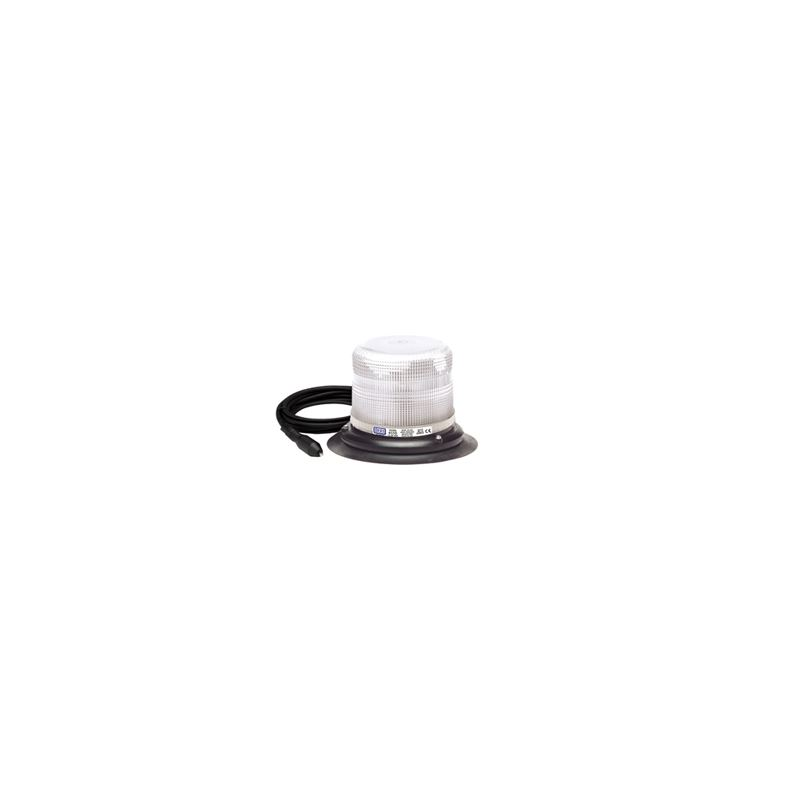 6550C-VM Vacuum Magnet Clear Strobe Beacon