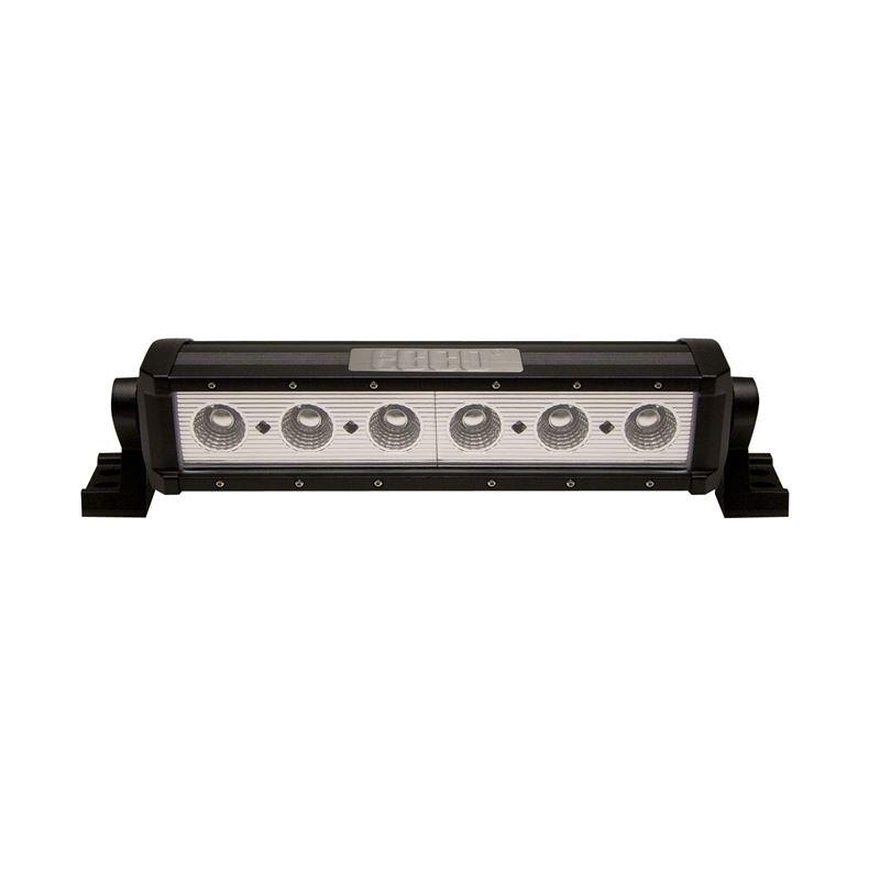 "12"" Flood Beam 6-LED Single Row 10W Utility B"
